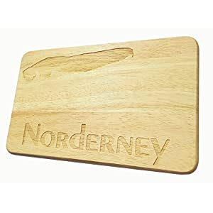 Brotbrett Norderney Frühstücksbrett Nordsee Insel