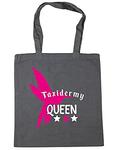 HippoWarehouse Taxidermy Queen Tote Shopping Gym Beach Bag 42cm x38cm, 10 litres
