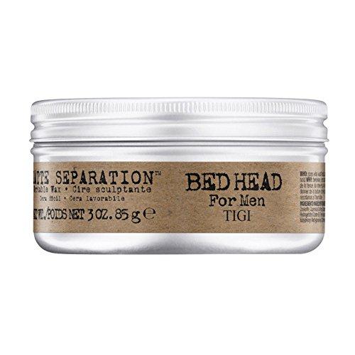 Tigi Bed Head Men Matte Separation Workable Wax, 1er Pack, (1 x 85 g)
