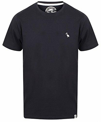 Herren T-Shirt South Shore Kurzarm-T-Shirt T-Shirt aus Weicher Baumwolle Peavey,Dunkle Marine L (T-shirt Dunkle Grundlegende)