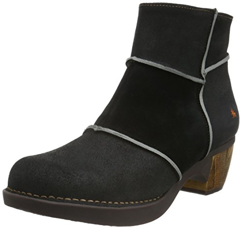 ArtZundert Ankle Boot - Stivaletti donna, Nero (Black (Waxy Black)), 39