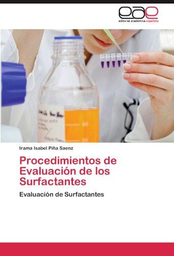 Procedimientos de Evaluación de los Surfactantes por Piña Saenz Irama Isabel
