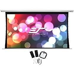 "Elite Screens Saker Tab 135"" 16:9 pantalla de proyección - Pantalla para proyector (Motorizado, 3,43 m (135""), 2,99 m, 168,2 cm, 16:9)"