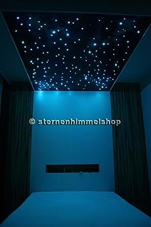 Kit Cielo Stellato RGB LED 5 W 250 Fibre Ottiche cambiacolore con telecommando: Amazon.it ...