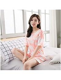 44dd06849c HAOLIEQUAN Conjuntos De Pijamas para Mujer Ropa De Dormir para Niñas De  Gran Tamaño Pijamas De