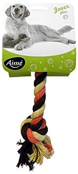 AIME Jouet Corde Coton 20 cm pour Chien