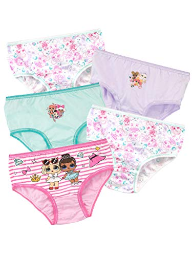 LOL Surprise - Lot de 5 Culottes - Fille