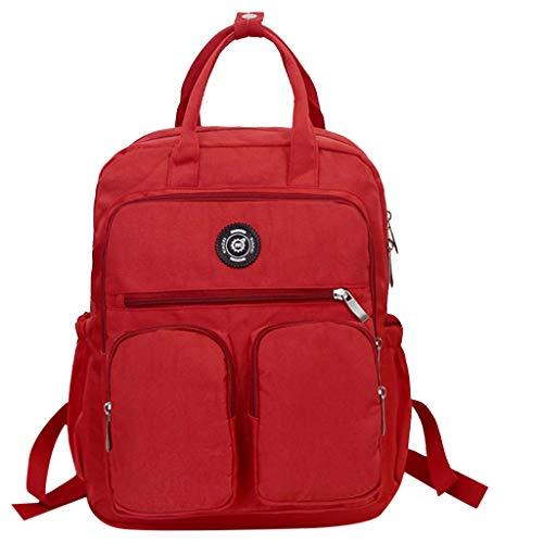 YEARNLY Damenmode Rucksack Handtasche, Unisex Multifunktion Schulter Daypack Designer Persönlichkeit Rucksack Umhängetasche Reisetasche Laptoptasche Outdoor-Rucksack -