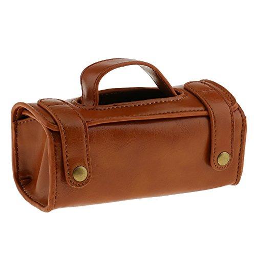 Leonardo sac de voyage - 20.5 design-cuir-chocolat nvAX0m