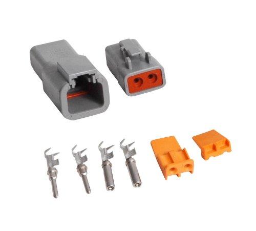 MSD Ignition Deutsch Connecteurs 2-Pin PN: 8184
