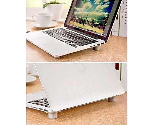 SPORTSMANN Laptoptisch Notebookständer, Monitorständer Bildschirmständer, PVC Praktisch und Mobil...
