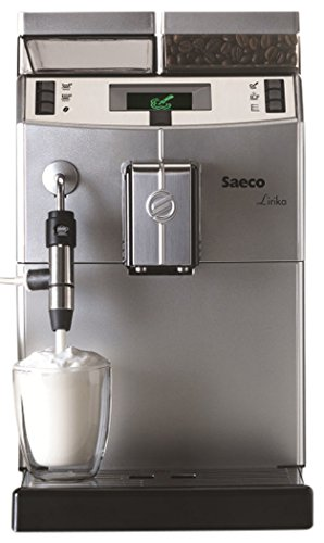 Saeco Lirika Macchiato Independiente Totalmente automática Máquina espresso 2.5L 15tazas Acero inoxidable - Cafetera (Independiente, Máquina espresso, 2,5 L, Molinillo integrado, 1850 W, Acero inoxidable)