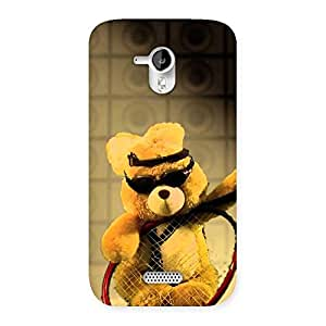 NEO WORLD Remarkable Teddy Rackets Back Case Cover for Micromax Canvas HD A116