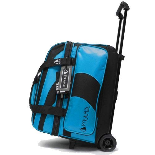 Pyramid Path Deluxe Double Roller Bowling Bag, Blau (Island Blue)
