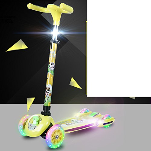 Preisvergleich Produktbild Scooter/Kinder Faltrad/ swing-gelb