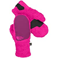 North Face Girls Denali Thermal Ski Mitt 2015, Azalea Pink/Parlour Purple, L by The North Face