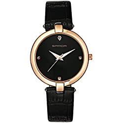 Fashion ladies quartz watch/ strap waterproof watch/Simple casual watches-B