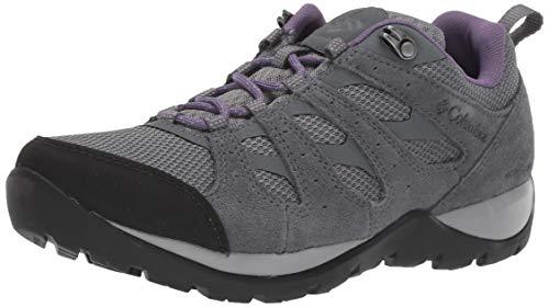 Columbia Redmond V2, Zapatos de Senderismo Impermeables para Mujer, Gris Ti Grey Steel, 033, 38 EU