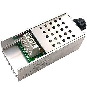 Gorei 10000W Hochleistungs Scr Bta10 Elektronischer Spannungsregler Drehzahlregler Dimmer Thermostat Ac 220 v