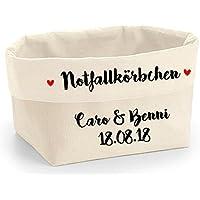 Notfallkörbchen Hochzeit Jubiläum personalisiert
