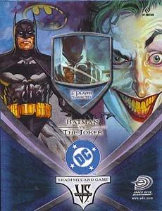 DC VS SYSTEM TRADING CARD GAME 2PLAYER STARTER DECK BATMAN VS  JOKER