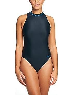 Zoggs Women'Badeanzug s Zip High Neck