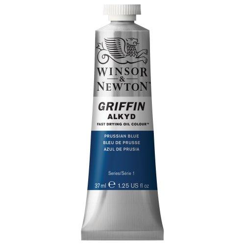 winsor-newton-griffin-alkyd-tubo-oleo-de-secado-rapido-37-ml-color-azul-de-prusia