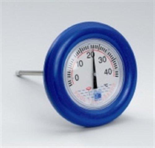 """Aquaforte Schwimmendes Thermometer Modell """"Rettungsring"""", -5ºC - +40ºC, für Teich-, Schwimmbad- und Poolgebrauch, Inkl. Befestigungsschnur"""