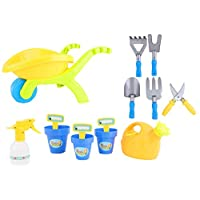 Toyland® Push Along Wheelbarrow With Accessories - Outdoor Toys