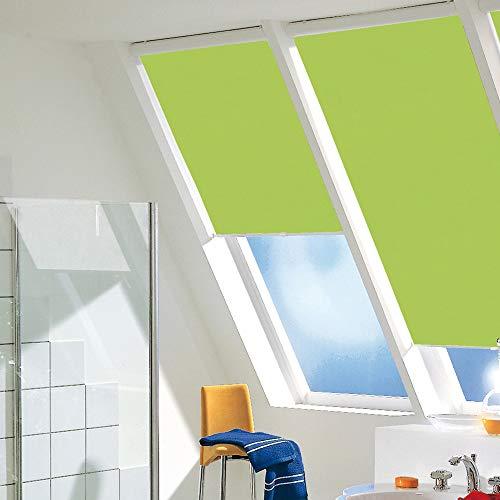 Las garras de estor con pinzas de sujeción para ventanas Velux para GGL, GHL, GPL, GHL P10 y/tela colour{410} E116/Lila, tipo persiana solar, con pinzas, deja pasar la luz