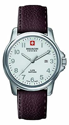 Police. 6-4231.04.001 - Reloj de cuarzo para hombre, con correa de cuero, color marrón de INTELIHANCE.