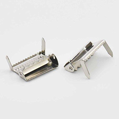 Buck-gürtelschnalle (25100PCS Bein Ratsche Hardware 2,5cm 25mm Clips für Straps Paci Schnuller Clip Buck Gürtel anpassen)