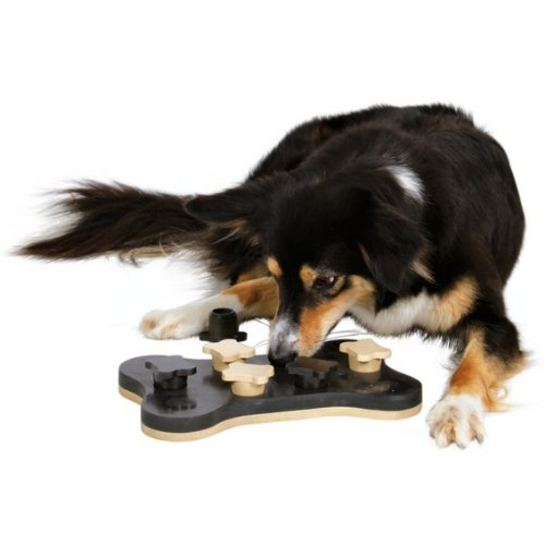 Trixie 32021 Strategiespiel für Hunde Dog Activity Game Bone, 31 x 20 cm - 3