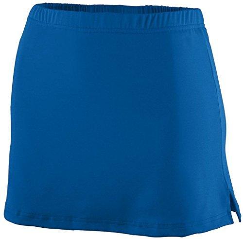 Augusta Ladies Poly/Spandex Team Skort (Royal Blue) (XL) by Augusta Sportswear (Team Skort)