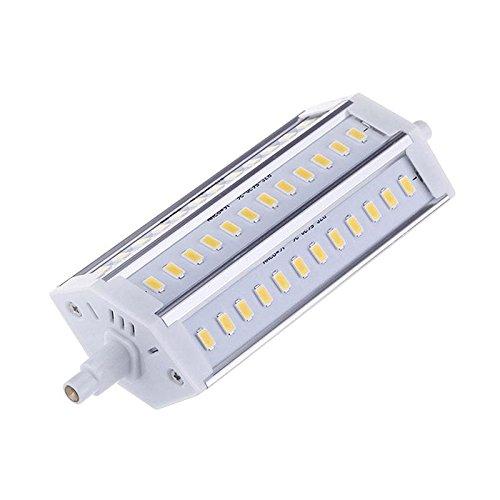 Bombilla LED R7S, 12W, 36xSMD5630, 135mm, Blanco cálido