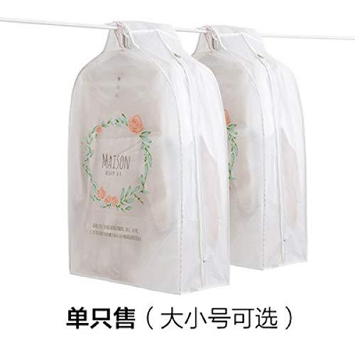 Grea tridimensionale vestiti del fumetto copertura antipolvere copertura del sacchetto vestiti sacchetto di immagazzinaggio sacchetto di polvere vestiti cover-3,30 * 60 * 110 cm