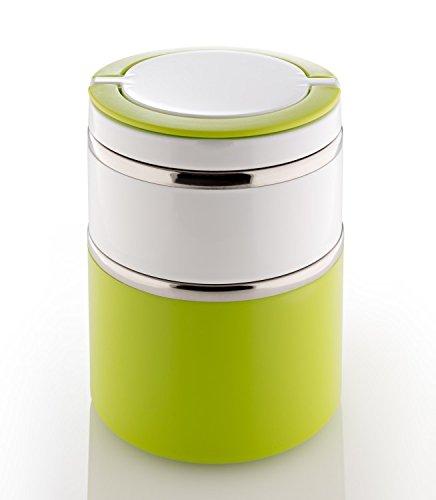 Lunchbox Müslibox Müsli-to-Go groß, grün