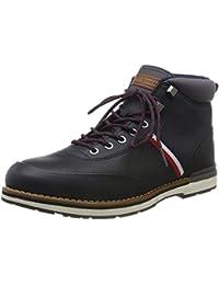 Tommy Hilfiger Herren Outdoor Corporate Leather Boot Klassische Stiefel