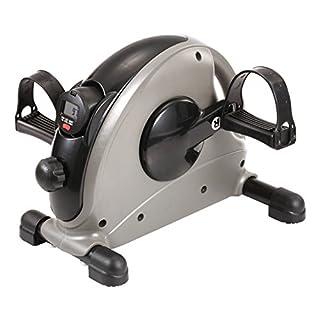 Sport-Thieme Mini-Bike Pedaltrainer | Kleiner Arm- u. Beintrainer mit einstellbaren Widerstand | Pedalriemen, LCD-Computer, Bremssystem | Hometrainer für Senioren | 37x37x30 cm | 6,5 kg