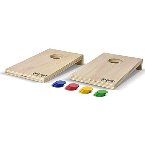 GoSports coinshot Mini Cornhole Spiel Set