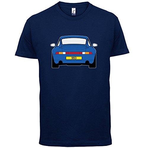 Porsche 993 Blau - Herren T-Shirt - 13 Farben Navy