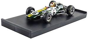 Brumm-r591-ch-Lotus 33GP-British GP 1965-Escala 1/43-Verde/Amarillo