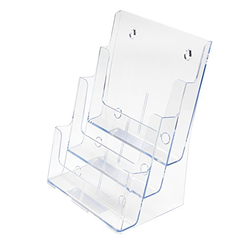 deflecto-77301-multi-tier-literature-display-holder-for-wall-or-desktop-3-tier-a4-portrait-clear