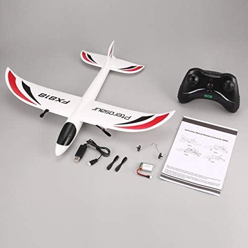 Redstrong Avion RC, FX FX-818 2.4G 2CH Télécommande Planeur 475mm Envergure EPP RC Avion à voilure Fixe Avion Drone pour Kid Cadeau RTF   Un Design Moderne