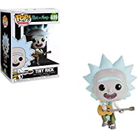Funko Rick & Morty Pop Tiny Rick w/Guitarra, Multicolor, Estándar (34215)