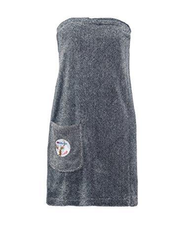 Nebulus Damen Wrap Sauna Kilt, Schwarz, One Size