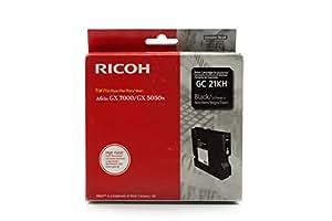 Ricoh Aficio GX 3050 n - Original Ricoh 405532 / GC-21K - Cartouche d'encre Gel Noir -