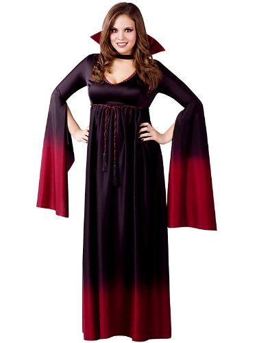röße Kostüm (Vampir Kostüme Plus Größe)
