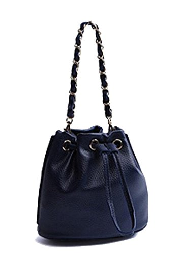La Signora Pu Mini Bag Darkblue