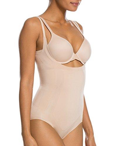Spanx Damen Shape Body Oncore Open-Bust Panty Camel (22) S